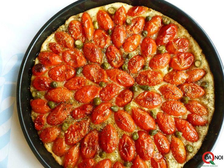 focaccia_pomodroini ricetta