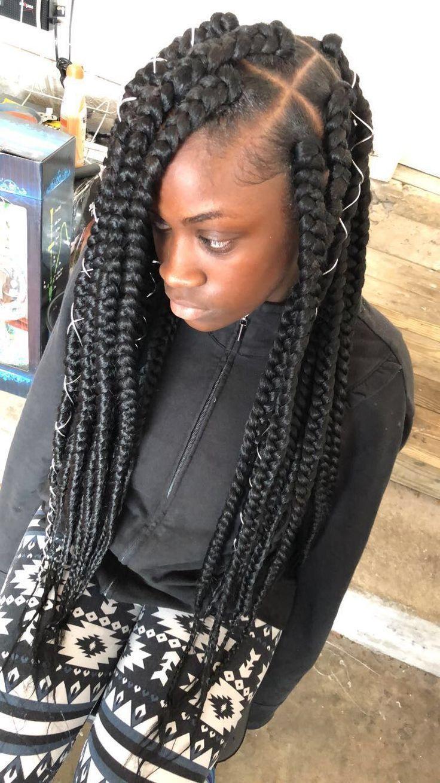 African Hair Braiding Braiding Hairstyles African American Box Braids Styling Big Box Braids Box Braids Hairstyles