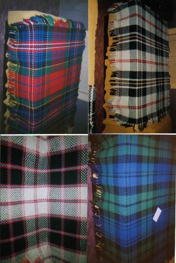 Free Crochet Patterns Tartan Rugs : Lap blanket to crochet crafts Pinterest
