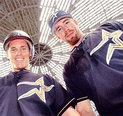 Bagwell and Biggio back in the day! they will always have my heart!