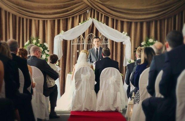 A Romantic Homecoming Wedding at the Armada Hotel by McMahon Studios | weddingsonline