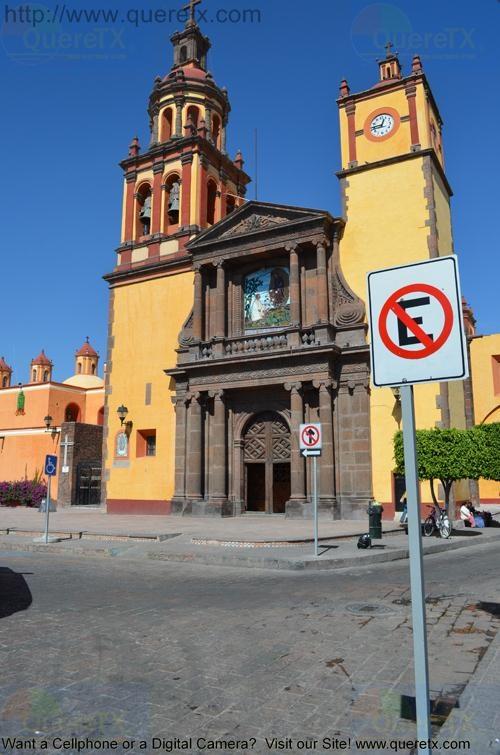San Juan Del Rio Church Front