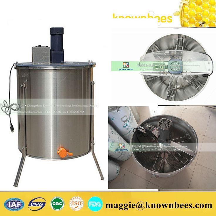 Encontrar Más Otra Maquinaria Información acerca de Equipo apícola eléctrica miel 6 marco extractor con más se pega, alta calidad miel paquete, China máquina extractora Proveedores, barato refractómetro para miel de Zhengzhou Known Imp. & Exp. Co., Ltd. en Aliexpress.com