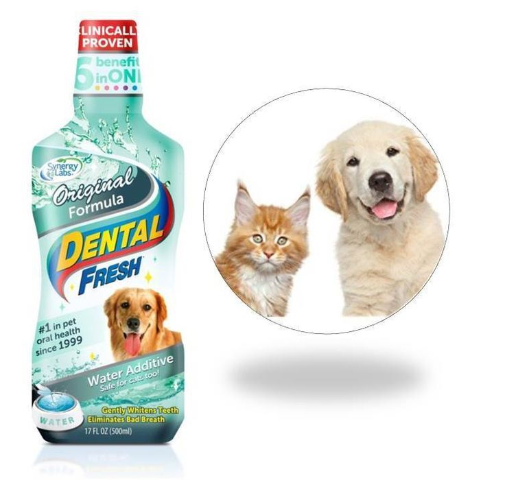 Pet Water Additive for Fresh Dog Cat Breath Teeth Plaque Tartar Removal 17fl.oz. #unbrand