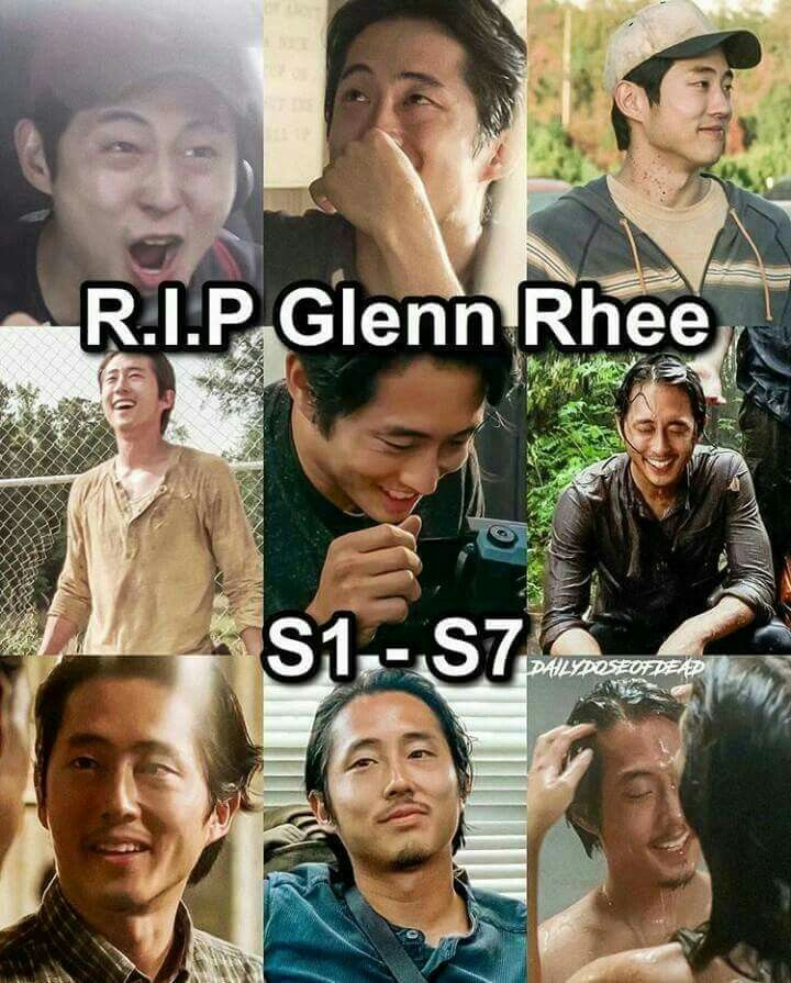 :'( I miss Glenn already...and the second episode of the season hasn't even aired yet.