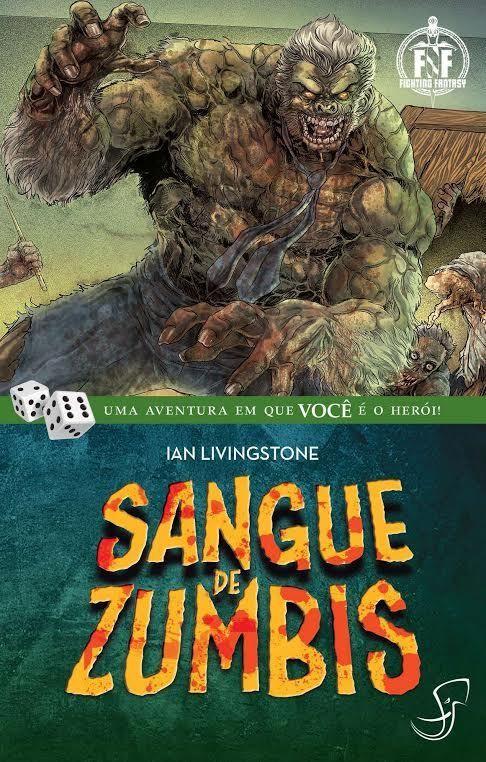 Enfrente os mortos-vivos no livro-jogo Sangue de Zumbis. Será que o leitor aventureiro sobreviverá ou também será transformado em zumbi?