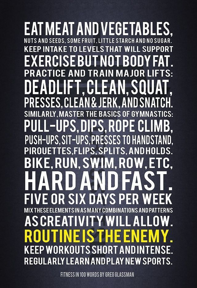 fitness in 100 words crossfit founder greg glassman