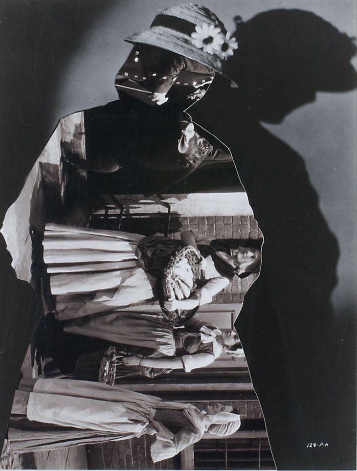 John Stezaker    Shadow VI    2006  Collage  24.2 x 18.4 cm