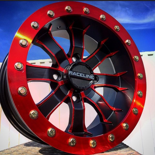 31 best atv utv wheels images on pinterest off road offroad whoa check out that candy red on envymotorsports a71 mamba gaspowder hits sciox Gallery
