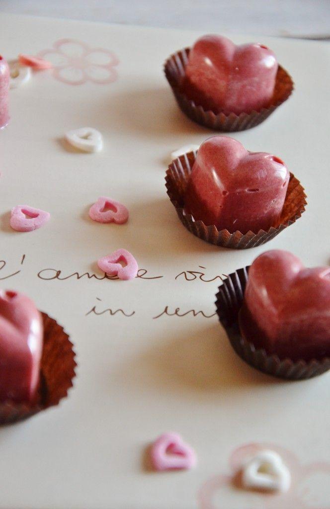 Cioccolatini Veloci al Cioccolato Bianco e Rosa con Bacche Goji
