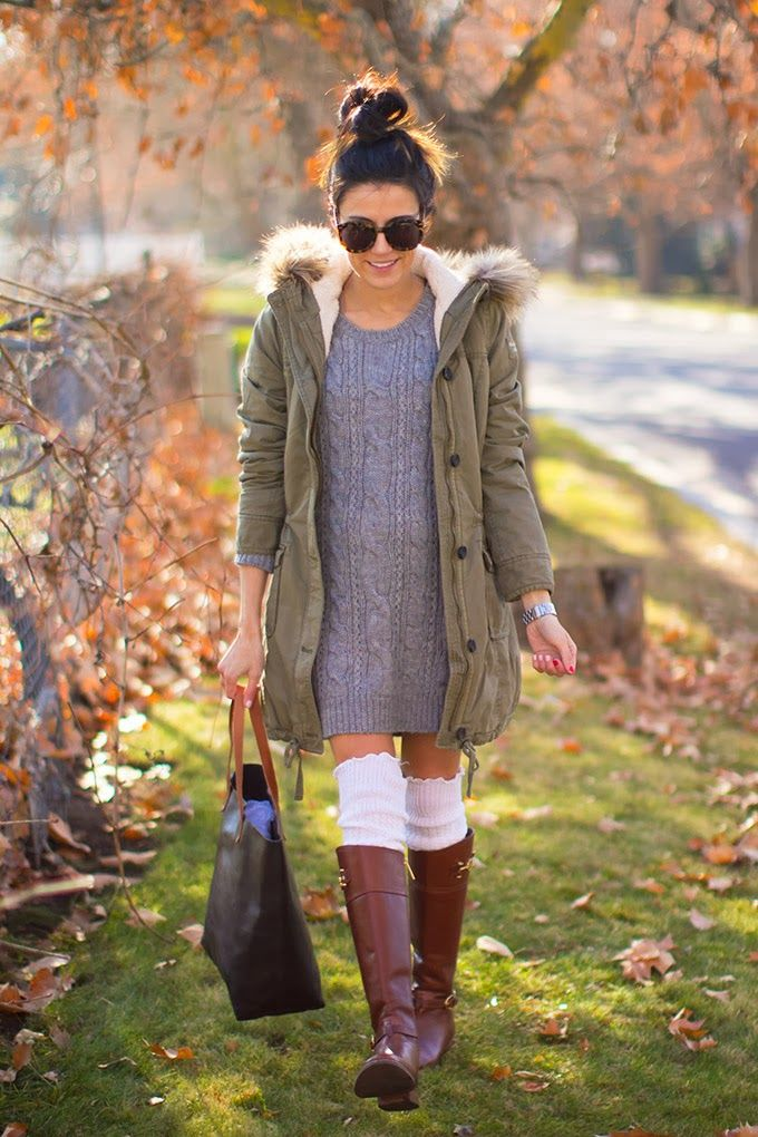 Cable Knit from Sweater to Dress