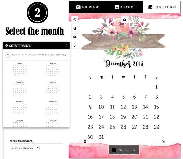 Calendar Maker (With Images) Custom Calendar, Calendar Maker
