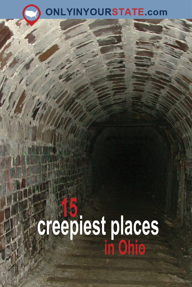 Travel | Ohio | Terrifying Places | Haunted Places | Paranormal | Creepy | Scary | Abandoned | Desolate | Forgotten | Ghosts