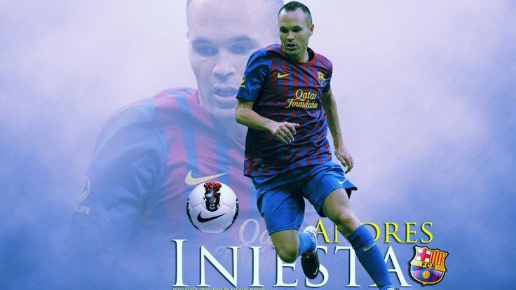Andrés Iniesta Barcelona - Fotos de fútbol - http://www.wallpapersoccer.com/andres-iniesta-barcelona-fotos-de-futbol.html