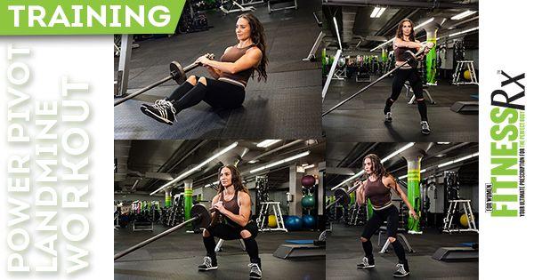 Power Pivot Landmine Workout Workout Total Body Workout Bodybuilding Workouts