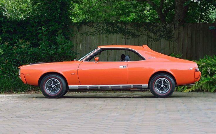 Big Bad Orange… 1969 SST Javelin Amc, Javelin, Mecum