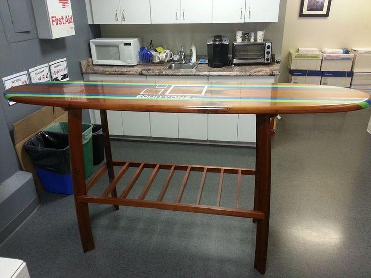 Best 25 bar table sets ideas on pinterest kitchen bar for Surfboard bar top ideas