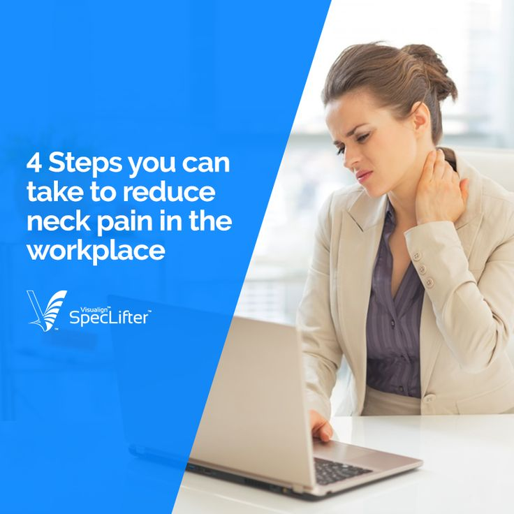 Do you experience neck strain due to long hours in front of your screen at work? Find out easy tips to help relieve your neck pain.
