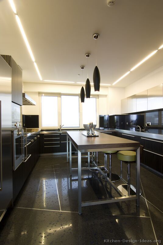 Modern Black Kitchen Cabinets 55 best black kitchens images on pinterest | black kitchens, black