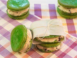 French Macaron Ice Cream Sandwiches #icecreamweek by LittleRedKitchen, via Flickr