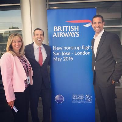 How San Jose's airport won nonstop British Airways flights to London