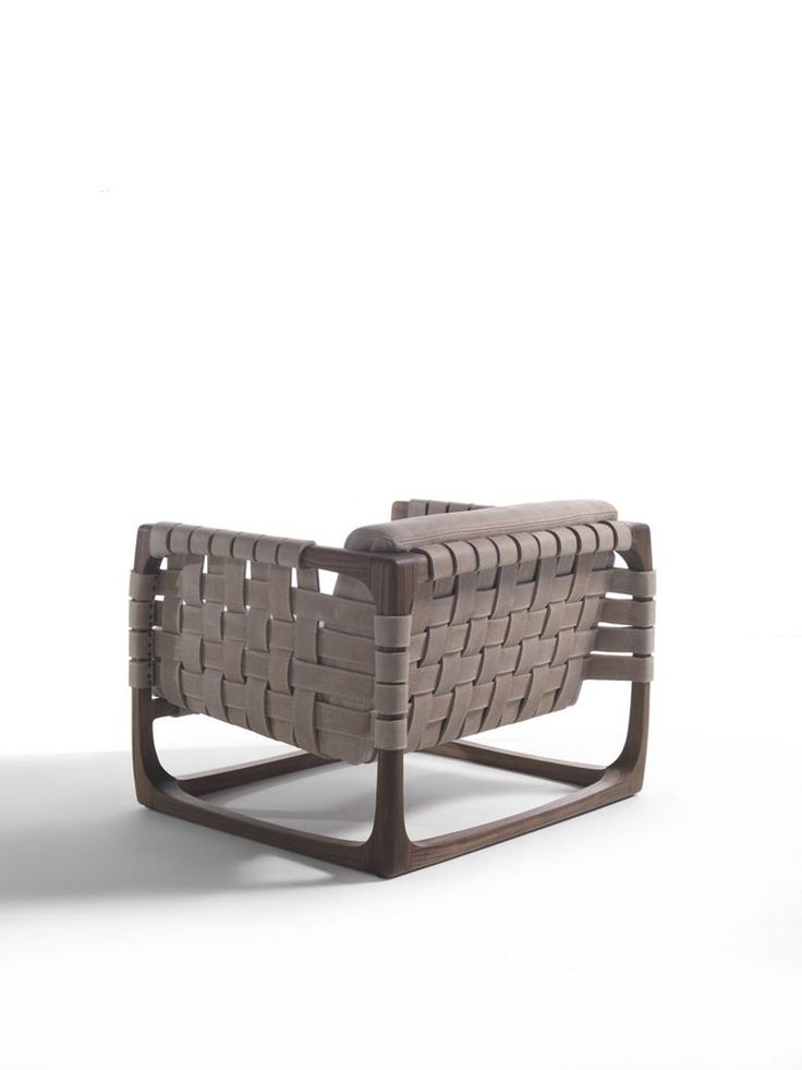 WOODEN ARMCHAIR WITH ARMRESTS BUNGALOW | ARMCHAIR | RIVA 1920