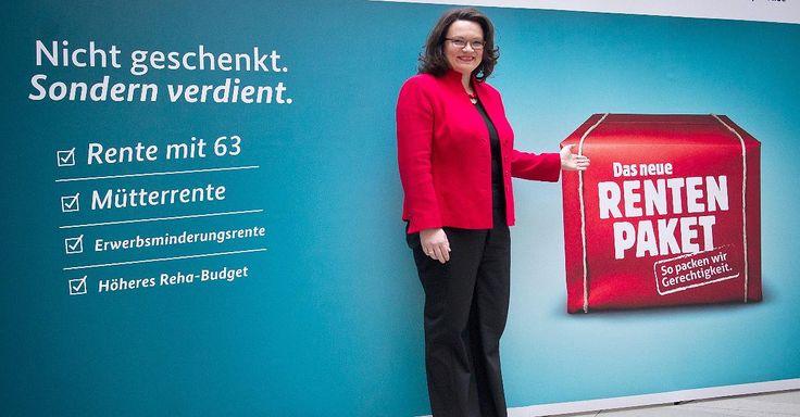 Focus.de - 1,7 Milliarden Euro weniger: Nahles erzeugt Antragsflut: Rente mit 63 reißt Löcher in die Kassen - Altersvorsorge