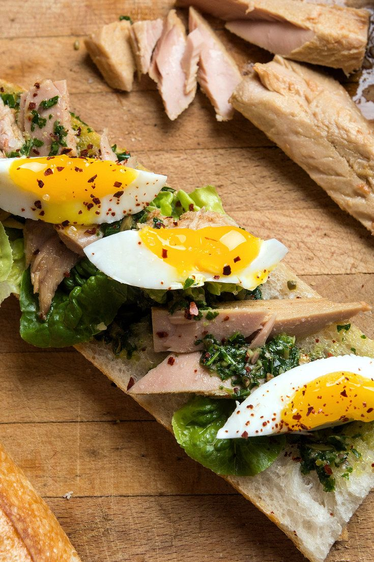 NYT Cooking: Though an American cook (or even a French one) usually adds mayonnaise to the bowl when dressing canned tuna for a sandwich, Italian cooks invariably anoint theirs with olive oil instead. Capers, olives and anchovy often join the festivities