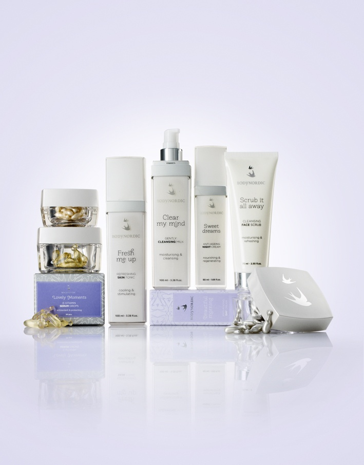 SignatureFace - a great beauty care series by BODY NORDIC! Packaging Designed by Bessermachen Designstudio