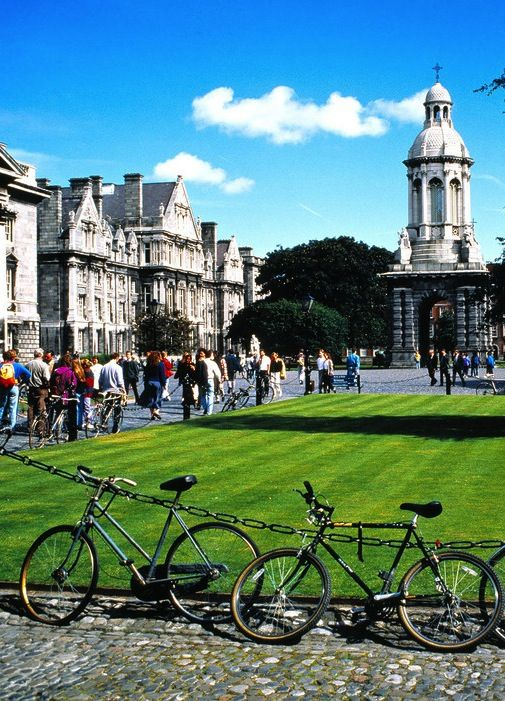 Trinity College in Dublin would be one of my first places to visit..for at least a day! So much history within these walls!
