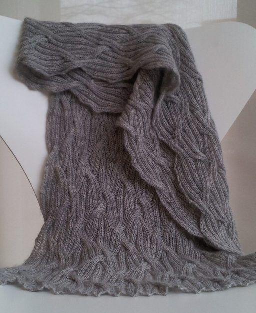 Reversible Cable Knit Afghan Pattern : De 217 bedste billeder fra Afghan Knitting Patterns pa Pinterest