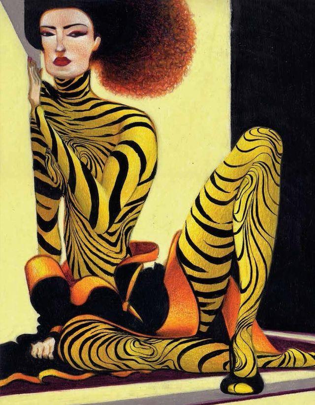 I disegni di moda di Lorenzo Mattotti - Il Post