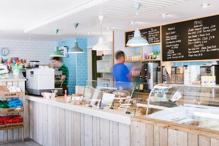 Talland Bay Beach Cafe, Polperro, looe