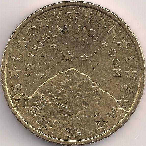 Motivseite: Münze-Europa-Mitteleuropa-Slowenien-Euro-0.50-2007-2014