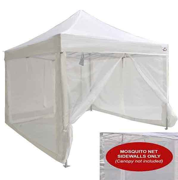 10x10 Pop Up Canopy Tent Mesh Sidewalls Screen Room Mosquito Net Sidewalls Only Pop Up Canopy Tent Canopy Tent Pop Up Tent