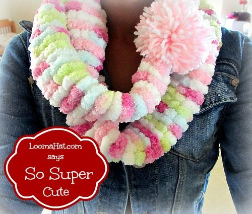Round Loom Knitting Scarf Patterns For Beginners : 41 best images about Loom Knit on Pinterest Knitting looms, Loom and Baby c...