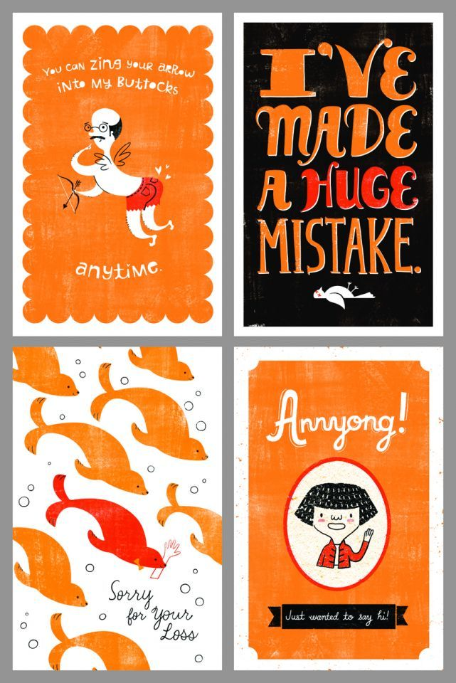 Free Arrested Development inspired printable greeting cards.