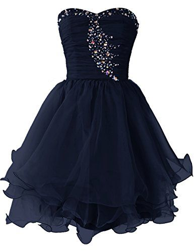 Dresstells® Short Organza Prom Dress with Beadings Ev... https://www.amazon.co.uk/dp/B00WSP52HQ/ref=cm_sw_r_pi_dp_rkWLxbXVT0D6G