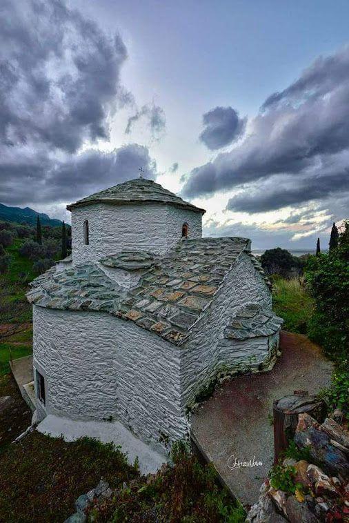 A beautiful litle Cherch in Samos Island of Hellas !