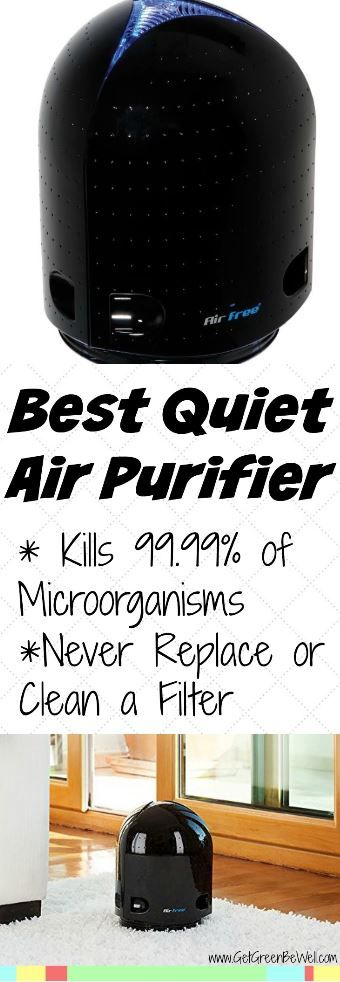 The best quiet air filter that removes 99.99% of microorganisms from your indoor air! Plus, you'll never have to change a filter again. Kill dust mites, mold and allergens inside with this effective air purifier.