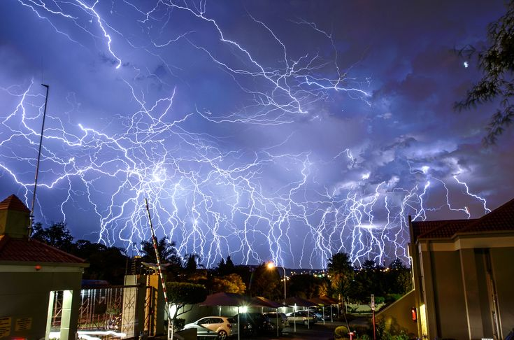 11 Dramatic Images Of Lightning Over Johannesburg, South Africa (from Huffington Post)