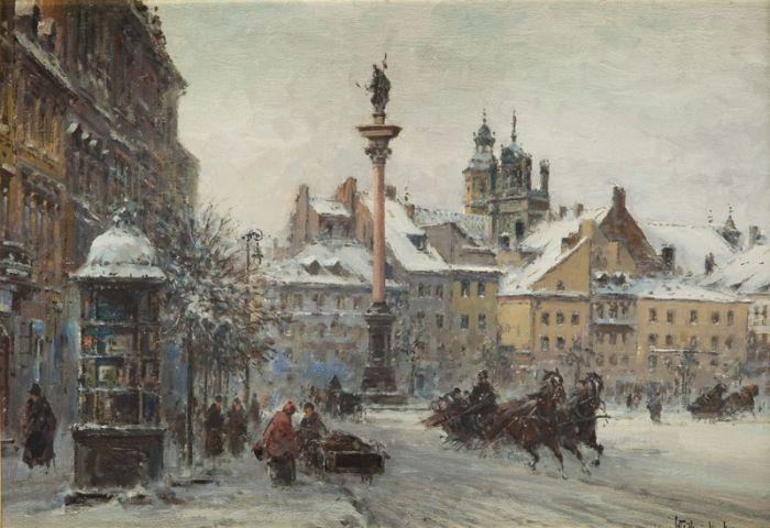 Władysław Chmieliński - Warszawa - kolumna Zygmunta