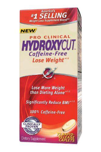 Hydroxycut Pro Clinical- 100% Caffeine Free Rapid Release