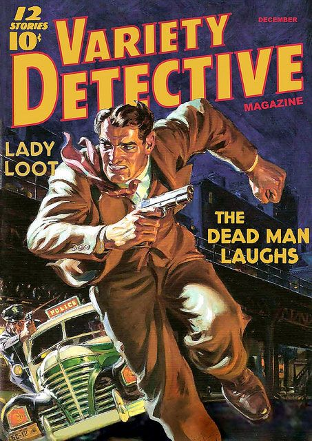 Atomic Pulp & Other Meltdowns: Wednesday Cover:VARIETY DETECTIVE