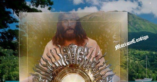 MARÍA EUCARISTÍA Si crees que es demasiado para ti, que es una tarea muy difícil y te detiene el recuerdo de tus debilidades, mira a   María, llama a María. Santa Misa: miércoles 18 de mayo de 2016. Séptim - See more at: http://mariamcontigo.blogspot.com/2016/05/santa-misa-para-hoy-180519.html