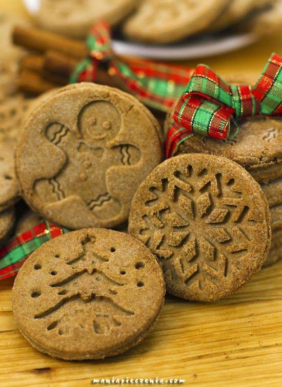 Miodowo - korzenne ciasteczka bez glutenu / Gluten Free Honey and Spice Stamped Cookies