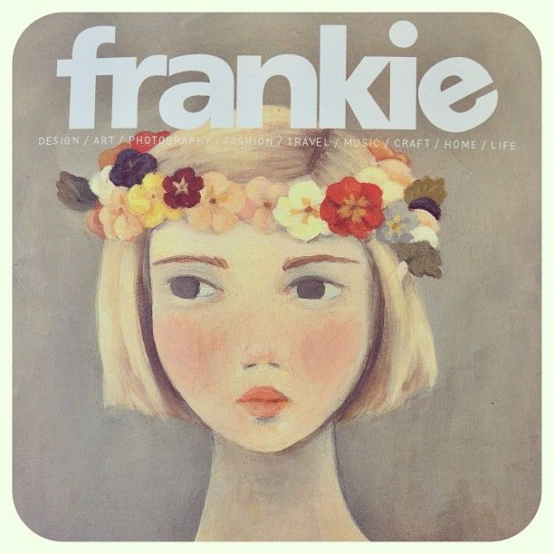 La La Land's Emily Winfield Martin on the cover of Frankie Magazine! More from Emily at http://lalalandshop.com.au