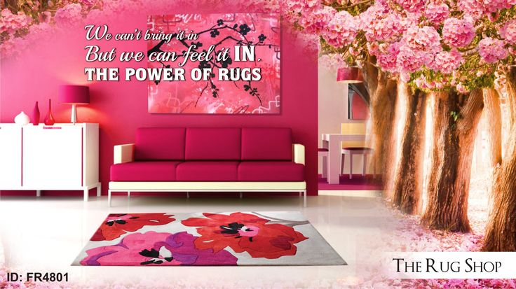 Blossoms are always Awesome…Its good to have them. Enjoy our flowery rugs which would summon springs in your room. #TheRugShopUK Buy now at: http://bit.ly/1KKsUfq