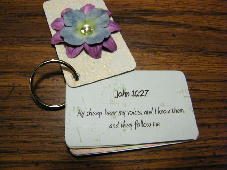 Breath prayer key chains made for ladies retreat earlier this year. - revamp this idea more my style