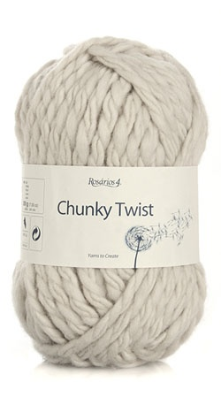 Rosarios 4 Yarn chunky twist 100% Wool